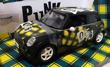Jadi 1/18 Scale - FOX4 Mini Cooper Foxton -  Punk London Rebel Green #006