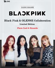 Black Pink & OLENS Photo Card Set + bromide OLENSE SQUARE Official