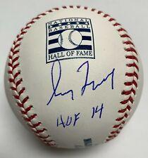 Greg Maddux Signed MLB Baseball MLB Authentic #JD354237 Braves w/ Inscription