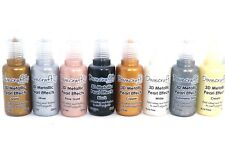 Dovecraft 3D Metallic Paint Crafts Pack of 8 MDF Craft Painting Arts and Crafts