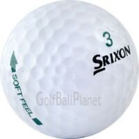 100 Mint Srixon Soft Feel Used Golf Balls