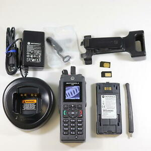 Motorola r765 (Nextel) Rugged Direct Talk Cell Phone - No Service Required