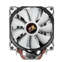 SNOWMAN 4PIN CPU cooler 6 heatpipe Single fan cooling 12cm fan LGA775 1151  R7V6