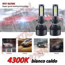 LAMPADINE LED AUTO H4 4300K BIANCO LUNARE LUCI HID ADATTABILI FIAT 500 126 EPOCA