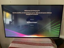 SAMSUNG UE55KU6099UXZG LED TV (Flat, 55 Zoll, UHD 4K, SMART TV) Super Zustand