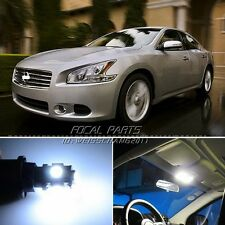 16 x Xenon White LED Lights Interior Package Kit For Nissan Maxima 09-14 K101