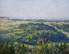 Eduard Lammert (*1867) Öl-Gemälde alt antik Impressionismus Landschaft ~1900