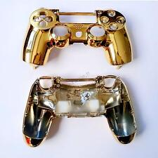 Chrome Gold Replacement Housing Shell PlayStation 4 PS4 Controller DualShock4