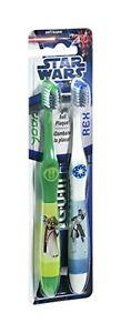 GUM Clone Yoda & Rex Toothbrushes 2 ct - Soft