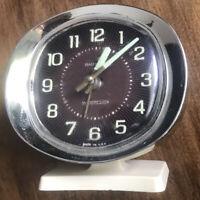 vintage westclox baby ben alarm clock wind up glow in the dark hands