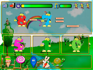 😀 Dos+Dos, Educational game for children, Didactic PC GAME, Digital Game. Kids.