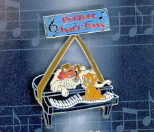 Disney Musical Moments Cat Oliver & Company Dodger Piano -Perfect Isn't Easy Pin