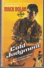 Executioner #114 Cold Judgment - PB 1988 -  Don Pendleton - Mack Bolan