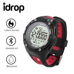 idrop XWatch Sports Smart Watch 3ATM Waterproof Dustproof Dropproof Sports Bluet