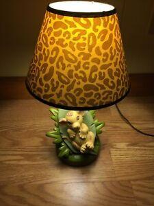 Disney Baby Simba Lamp Lion King Nursery Collectible