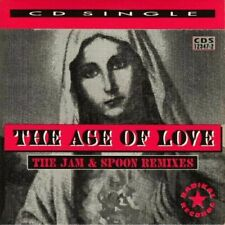 AGE OF LOVE (THE JAM & SPOON REMIXES) - (CD) W or W/O CASE