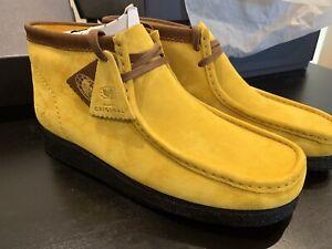Clarks Original x Wu-Tang Wallabee  size US11 Yellow FREE International ship