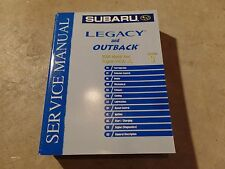 2004 Subaru Legacy and Outback Factory Service Manual Vol 3 Engine H4S0 U5