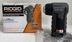 RIDGID 12-18 VOLT JobMax Right Angle Drill/Driver Head R8223402 (Tool Only)