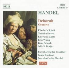 NEW Deborah Oratorio (Audio CD)