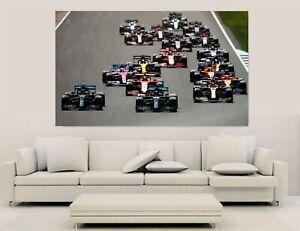 Canvas Wall Art - F1 2020 - F1 Grid 2020