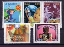 FRANCE  FRANKREICH Yv 3372-3376 Mi 3512-3516 Kommunikation 008