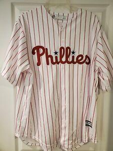 Philadelphia Phillies Jersey XL Majestic