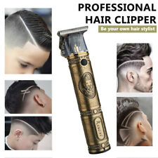 Rechargeable Hair Clipper Electric Men Cordless Hair Trimmer Beard Shaver Razor@