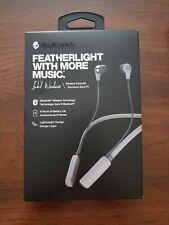 Skullcandy Ink'd Bluetooth Wireless Earbuds w/ Microphone S2IKW-K610 Gray/Chrome