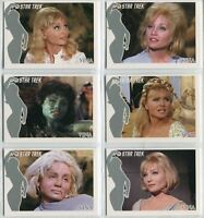 Star Trek TOS 40th Anniversary S1 Faces of Vina Chase Card Set of 6 FV1-FV6 2006