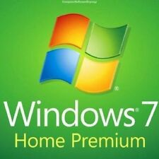 WINDOWS 7 HOME PREMIUM 32 / 64BIT SP1  GENUINE LICENSE KEY SCRAP PC