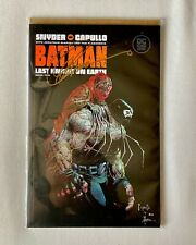 DC ComicsBatman: Last Knight on Earth Vol. 2 RAW SIGNED by Greg Capullo