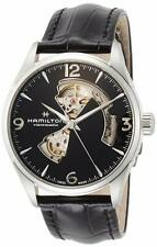 Hamilton Men's H32705731 Jazzmaster Open Heart Black Dial Automatic 42mm Watch