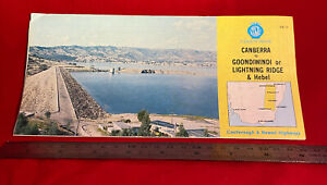 NRMA Canberra to Goondiwindi or Lightning Ridge & Hebel map, c. 1981, Australia
