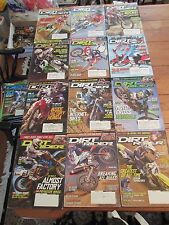 Dirt Rider Magazine- 2006- Entire Year 12 Issues ACCEPTABLE to GOOD