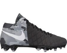 new concept d6352 cca53 Nuevo Nike Pro TD para hombre Field General Botines De Fútbol Negro Plata  EE. UU. 11
