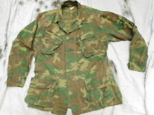 original ERDL lime green CAMO US ARMY VIETNAM jungle COAT JACKET 82ND AIRBORNE