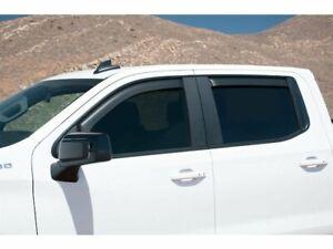 Side Window Deflector For 19-21 Chevy GMC Silverado 1500 Sierra SSV RST RM68H8