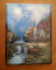 The Mountain Chapel Fall Plate By Thomas Kinkade Limited Edition 7 by 9 ""