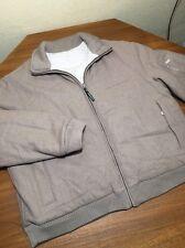 Woolrich Puffer WOOL Jacket DUCK Down ECRU Men's XL  Coat REVERSIBLE HOT