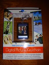 RARE Digital Decor Digital Picture Keychain - NIB - Stores Up To 50 Photos!