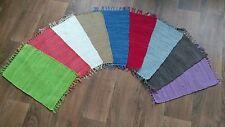 Fleckerl Handweb Teppich Garmisch in 9 Farben & 5 Größen wählbar Fleckerlteppich