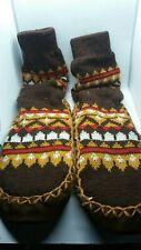 Vintage 1970s Sock Slippers Mocassins
