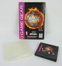 NBA Jam Tournament Edition T.E. (Sega Game Gear, 1994) with manaual and case
