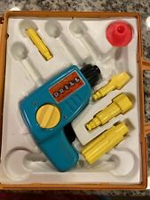 Tool Kit 924 Drill Building Wind Up Tool Case Fisher Price Vintage 1977 Works!