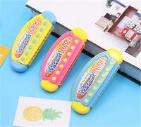 Plastic Mini Cartoon Educational Musical Harmonica Instrument  Kids HVNIUS