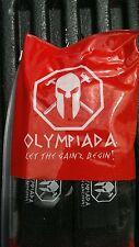 1 Pair Olympiada Wrist Wraps 18 Inch Black