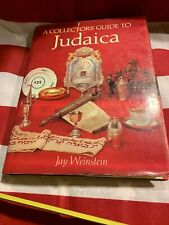 A Collector's Guide To Judaica Jay Weinstein Thames And Hudson Jewish Judaism ✡�