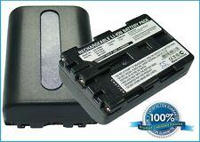 7.4 V Batteria per SONY DCR-TRV140, HVL-ML20M (UNDERWATER VIDEO LIGHT), DSR-PDX10P