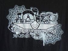 Bourget's Bike Works Web Short Sleeve in Black